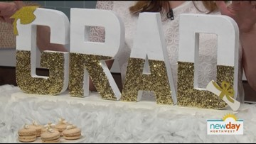 Get to celebrating with a Glitter & Gold Glam Graduation party - New Day Northwest