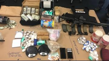 Major North Seattle drug bust nets narcotics, stolen guns, and $113K cash