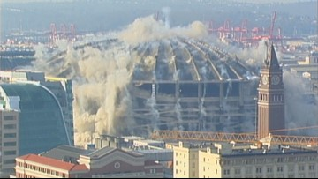 Remembering the Kingdome implosion 19 years later