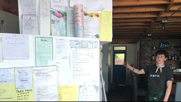 Vashon Island woman finds poetry in collection of grocery lists