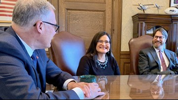 Washington's first Native American Supreme Court Justice sworn in
