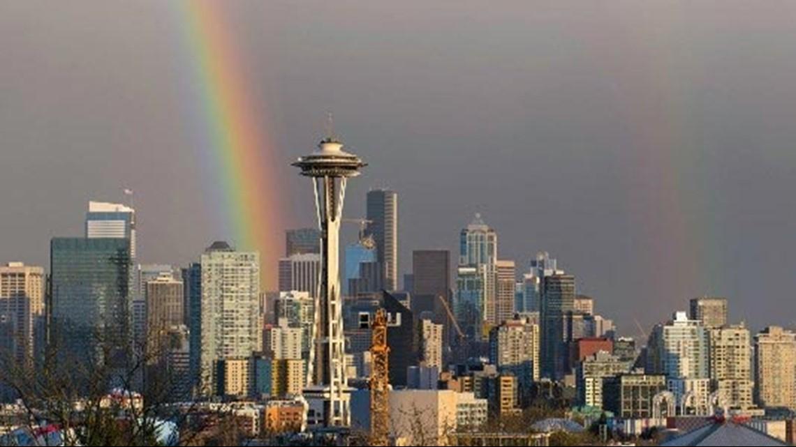 It's rainbow season in the Pacific Northwest