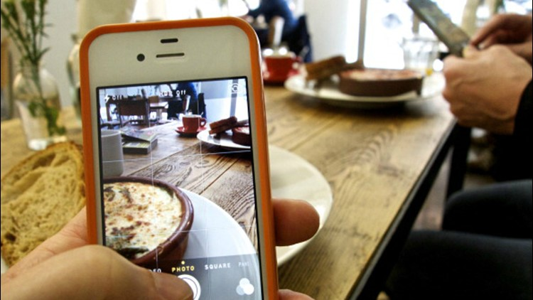 <p>In a new study released by the University of Washington, researchers found that by posting pictures of food on Instagram, users are more likely to meet healthy eating and weight loss goals. </p>