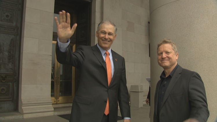 Welcome To My Neighborhood: Governor Jay Inslee on Olympia's Capitol Campus