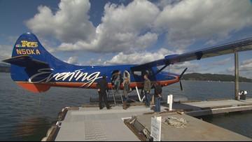 Flying to Alderbrook Resort on Kenmore Air - Field Trip Friday