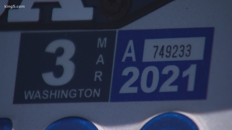 No relief for car tab fees as Washington unemployment soars during coronavirus crisis