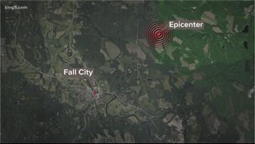 3.0 magnitude earthquake shakes near Fall City
