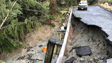 Westbound SR 18 to close this weekend for landslide repairs