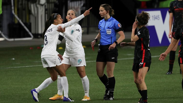 NWSL imposes additional 1-game suspension for Edmonds, Weaver's red rescinded