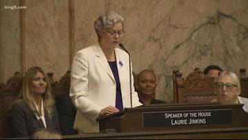 Washington state's first female, LGBTQ House Speaker sworn in