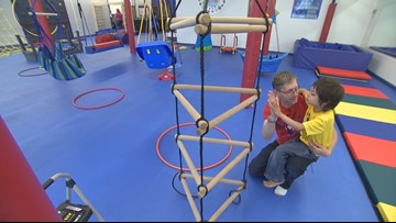 We Rock the Spectrum is a play gym for kids with autism