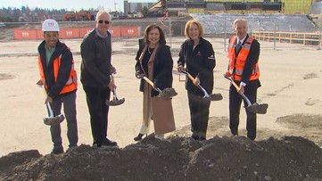 NHL Seattle breaks ground on training facility at Northgate Mall