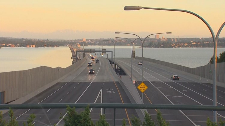 Westbound 520 bridge scheduled to reopen Monday at 5 a.m.