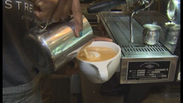 Seattle cafe offers job training for people leaving street life
