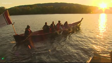 Kokanee salmon released in Lake Sammamish for the first time in 2 years
