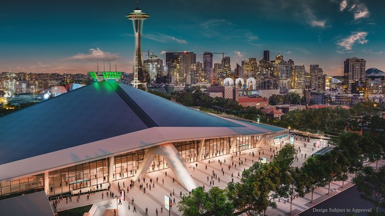 Amazon to rename KeyArena the 'Climate Pledge Arena' after securing naming rights