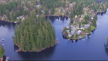 Buy your own private northwest island in Olympia
