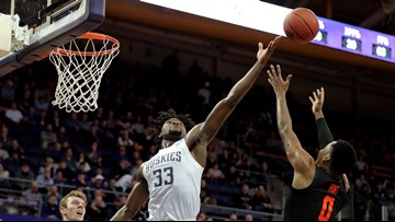 Washington rebounds with 64-56 victory over Oregon State