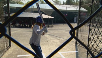 Field Trip Friday: The team strikes out at Rage Cage