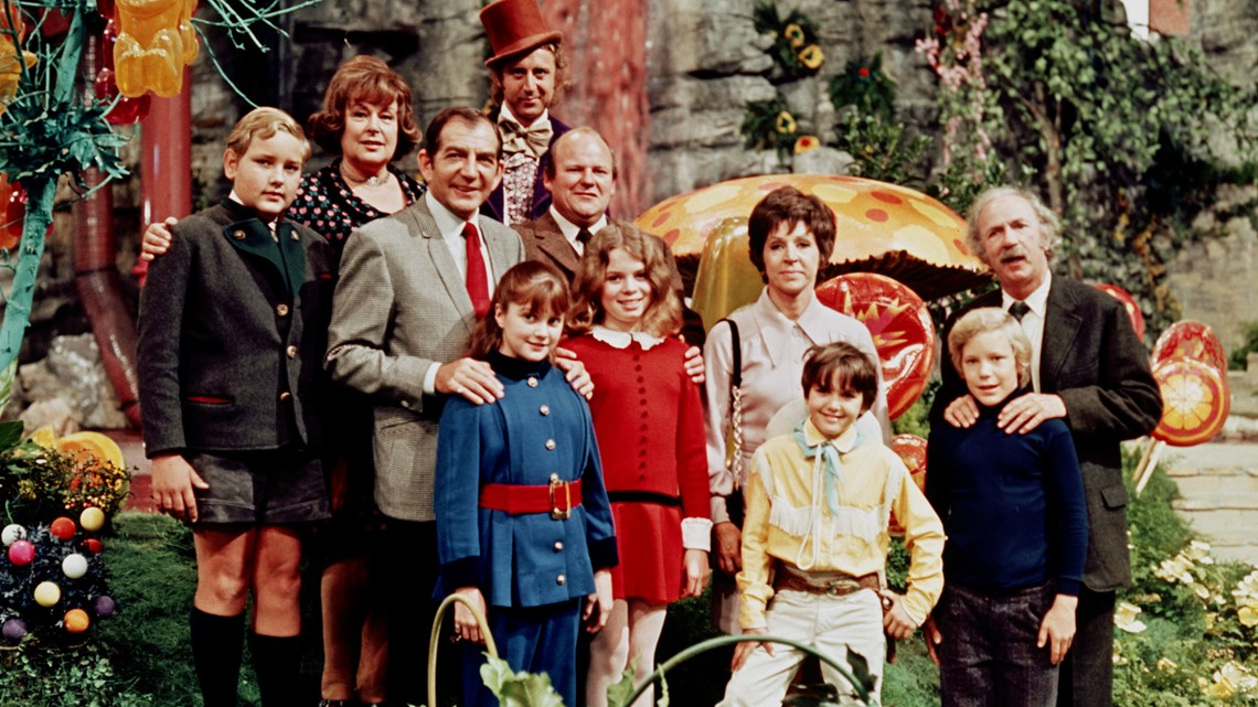 Young stars of 'Willy Wonka and the Chocolate Factory' reunite for 50th anniversary