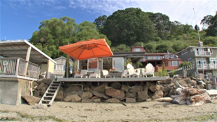 This beach house offers endless amenities and is right on the water!