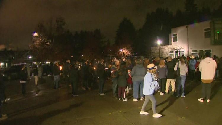 Tacoma's Salishan community holds  candlelight vigil to remember 4 shooting victims
