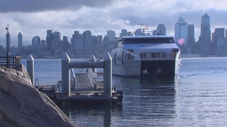 Passenger-only ferries resume service in Seattle on Monday