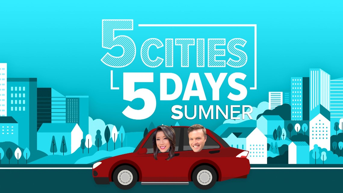 5 Cities in 5 Days: Sumner