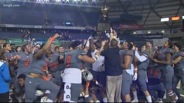 Eastside Catholic crusades for another football state championship