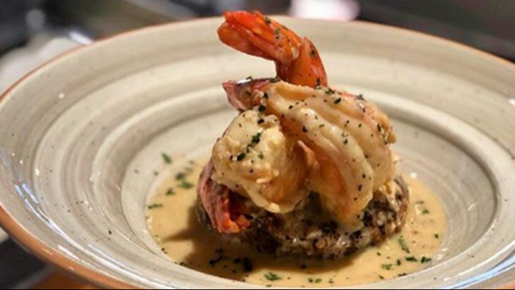 Savory shrimp scampi from Andare Kitchen + Bar