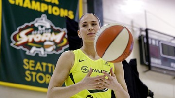 Storm's Sue Bird out of season indefinitely after knee injury