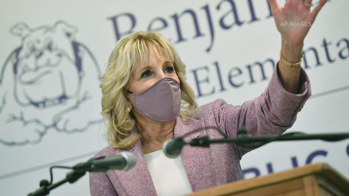 First Lady Dr. Jill Biden visits Washington state Tuesday