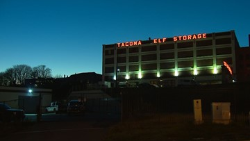Tacoma Elf Storage lights up the holidays