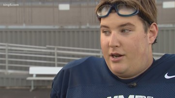 Olympia High School senior named football captain for off-field inspiration