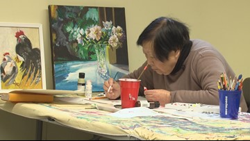 Art therapy helps heal mental illness