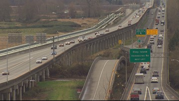 Westbound US 2 trestle near Everett closed this weekend