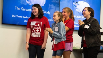 Seattle girls featured on the 'Today Show' for creating anti-bullying video game