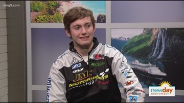 Teenage rookie from Ravensdale takes on Monster Energy Supercross showdown - New Day Northwest