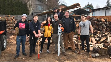 Lake Stevens family on a mission to bring firewood to those who need it most