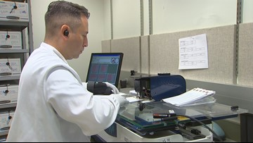 Renovated lab screens newborns for deadly disorders in Washington state