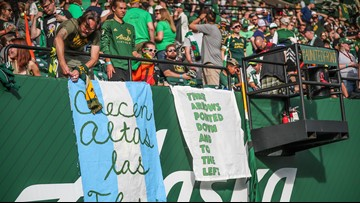 MLS lifts ban on anti-Nazi symbol following Seattle, Portland fan protests