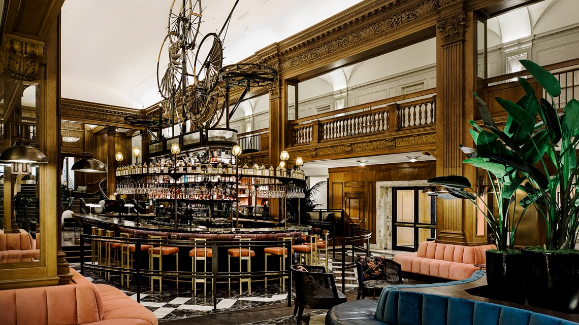 Restoration of Seattle's historic Fairmont Olympic Hotel uncovers a well-kept secret