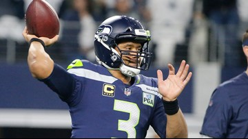 Seahawk Russell Wilson's grandfather dies