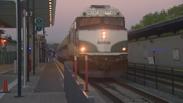 Amtrak trains crews on railway of deadly 2017 derailment near DuPont