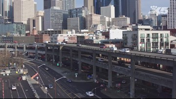 Drone aerials: Last day viaduct is open
