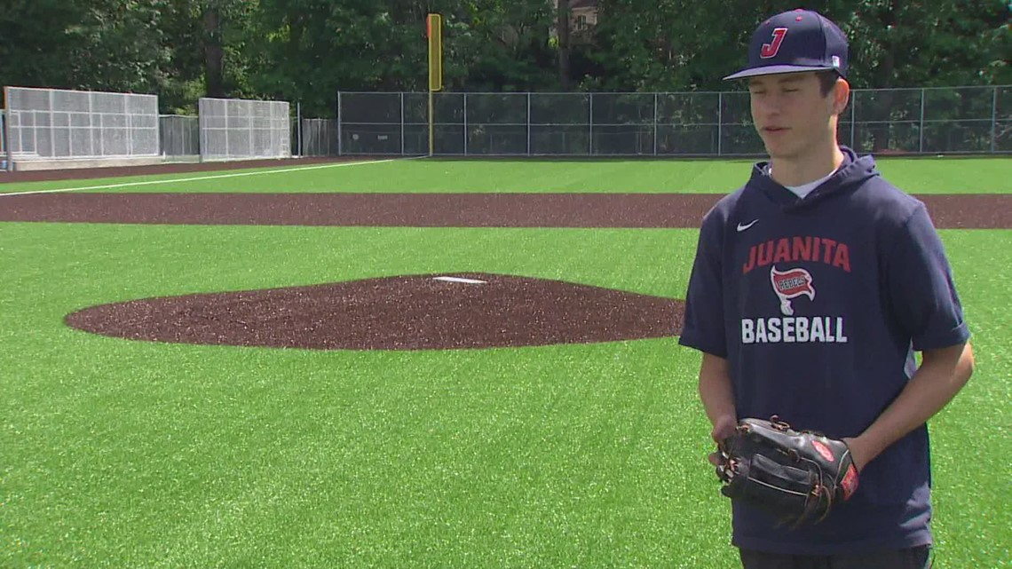 Prep Zone: Juanita High School senior becomes one of the top pitchers in Washington