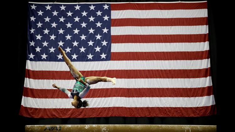 Vancouver, Wash. native represents Team USA in women's gymnastics