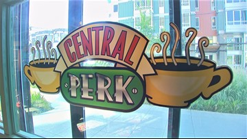 The one where you and your friends can grab coffee at Central Perk on Capitol Hill