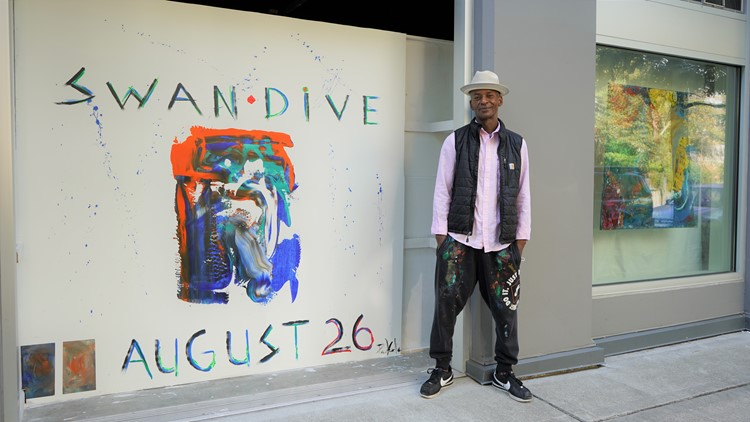 Seattle artist Paul Cole debuts colorful exhibition at City of Light Art Gallery - New Day NW