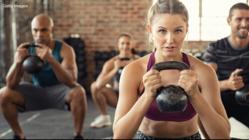 Strengthen your core with kettlebells - Get Fit!